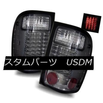 テールライト For 98-01 Ford Ranger Smoke LH/RH LED Tail Lights Rear Brake Lamps Replacement 98-01用フォードレンジャー煙LH / RH LEDテールライトリアブレーキランプ交換