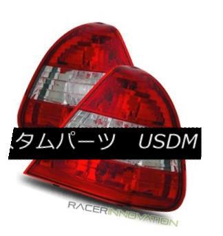 テールライト For 94-00 Mercedes Benz W202 C220/C230/C280/C36 Red Clear Tail Lights Brake Lamp 94-00用メルセデスベンツW202 C220 / C230 / C280 / C36レッドクリアテールライトブレーキランプ