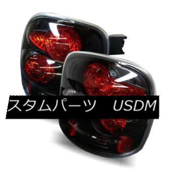 テールライト For 99-04 Silverado/Sierra Stepside Black LH+RH Altezza Tail Lights Brake Lamps 99-04 Silverado / Sier ra Stepst Black LH + RH Altezzaテールライトブレーキランプ
