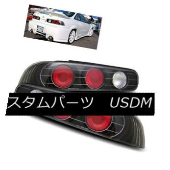 テールライト For 94-01 Acura Integra 2DR Black LH+RH Altezza Tail Lights Rear Brake Lamps 94-01用Acura Integra 2DRブラックLH + RH Altezzaテールライトリアブレーキランプ