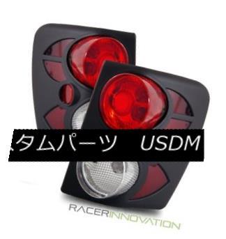 テールライト For 99-01 Jeep Grand Cherokee 3D Black Altezza Tail Lights Rear Brake Lamps 99-01ジープグランドチェロキー3DブラックAltezzaテールライトリアブレーキランプ