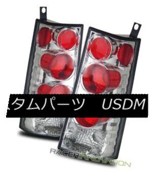 テールライト For 96-02 GMC Savana/Chevy Express Van Chrome Altezza Tail Lights Brake Lamps 96-02用GMC Savana / Chevy ExpressヴァンクロームAltezzaテールライトブレーキランプ