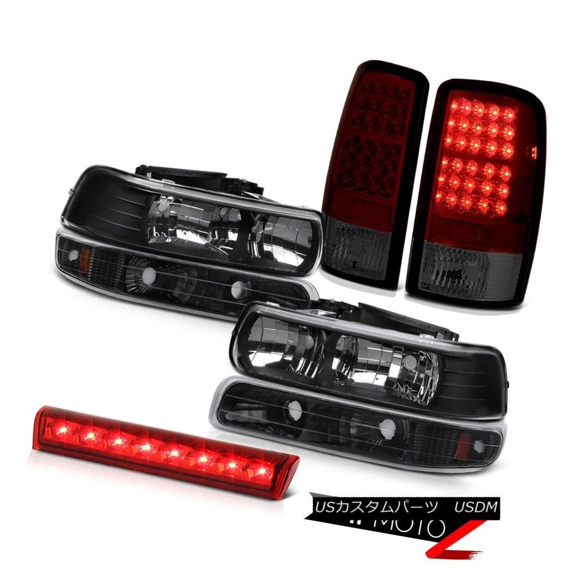 テールライト Black Headlight Onyx Bumper BRIGHTEST Light Roof 00 01 02 03 04 05 06 Tahoe 4.8L ブラックヘッドライトオニキスバンパーBRIGHTESTライトルーフ00 01 02 03 04 05 06タホ4.8L