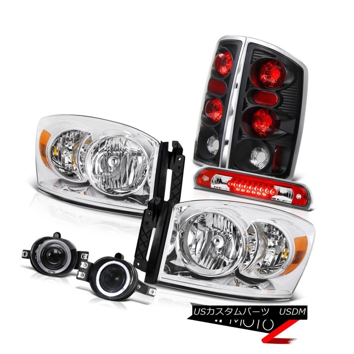テールライト Headlight Rear Brake Lights Foglights High Cargo LED 2006 Dodge Ram PowerTech ヘッドライトリアブレーキライトFoglightsハイカーゴLED 2006 Dodge Ram PowerTech