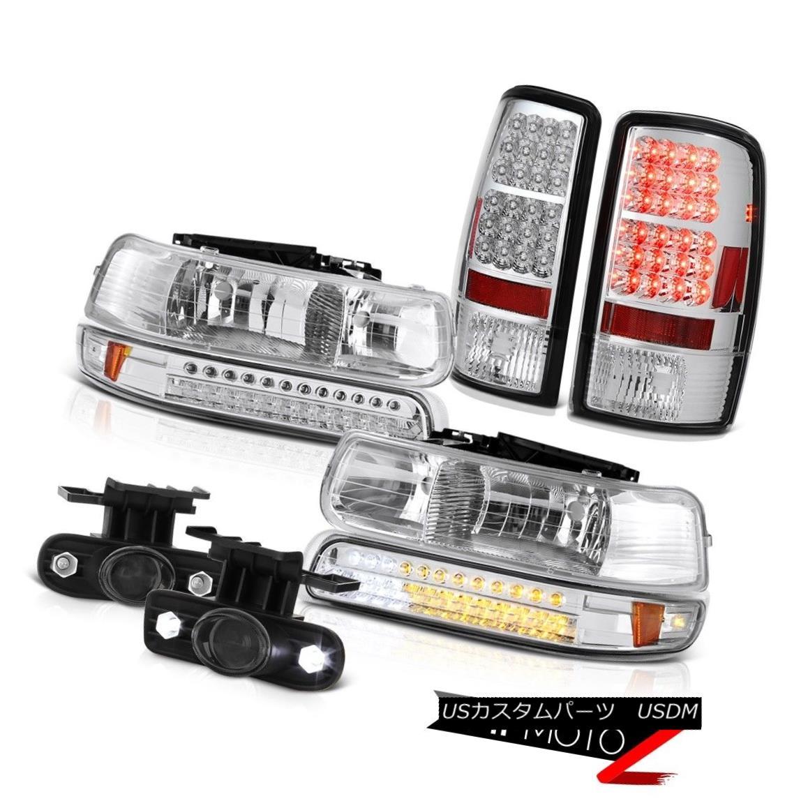 テールライト 00 01 02 03 04 05 06 Suburban LT Signal DRL Headlights LED Taillamps Driving Fog 00 01 02 03 04 05 06郊外LT信号DRLヘッドライトLEDタイルランプドライビングフォグ