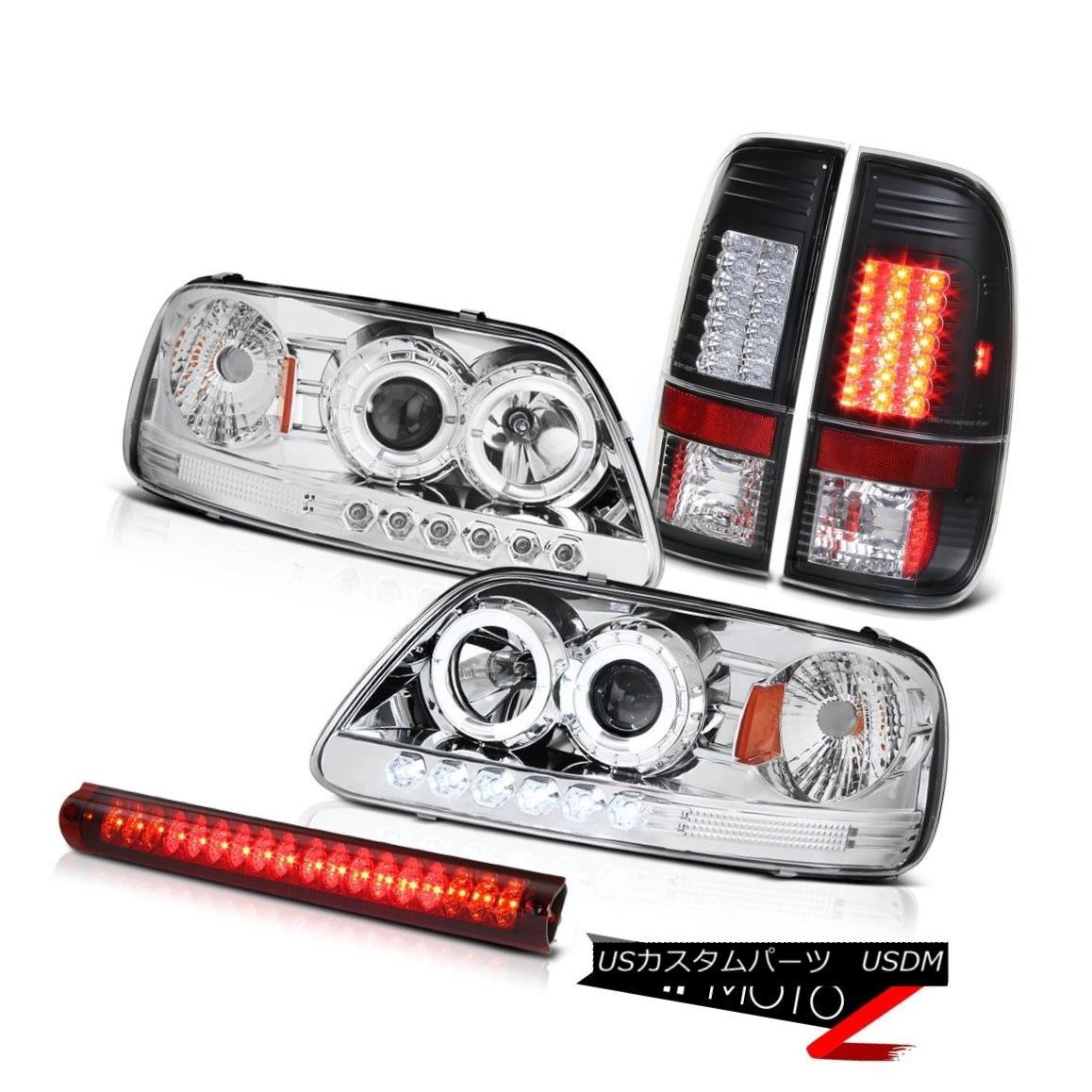 テールライト Headlight Halo DRL LED Bulbs Tail Lamp Brake Light Tint 2001 2002 2003 F150 5.4L ヘッドライトHalo DRL LED電球テールランプブレーキライトティント2001 2002 2003 F150 5.4L