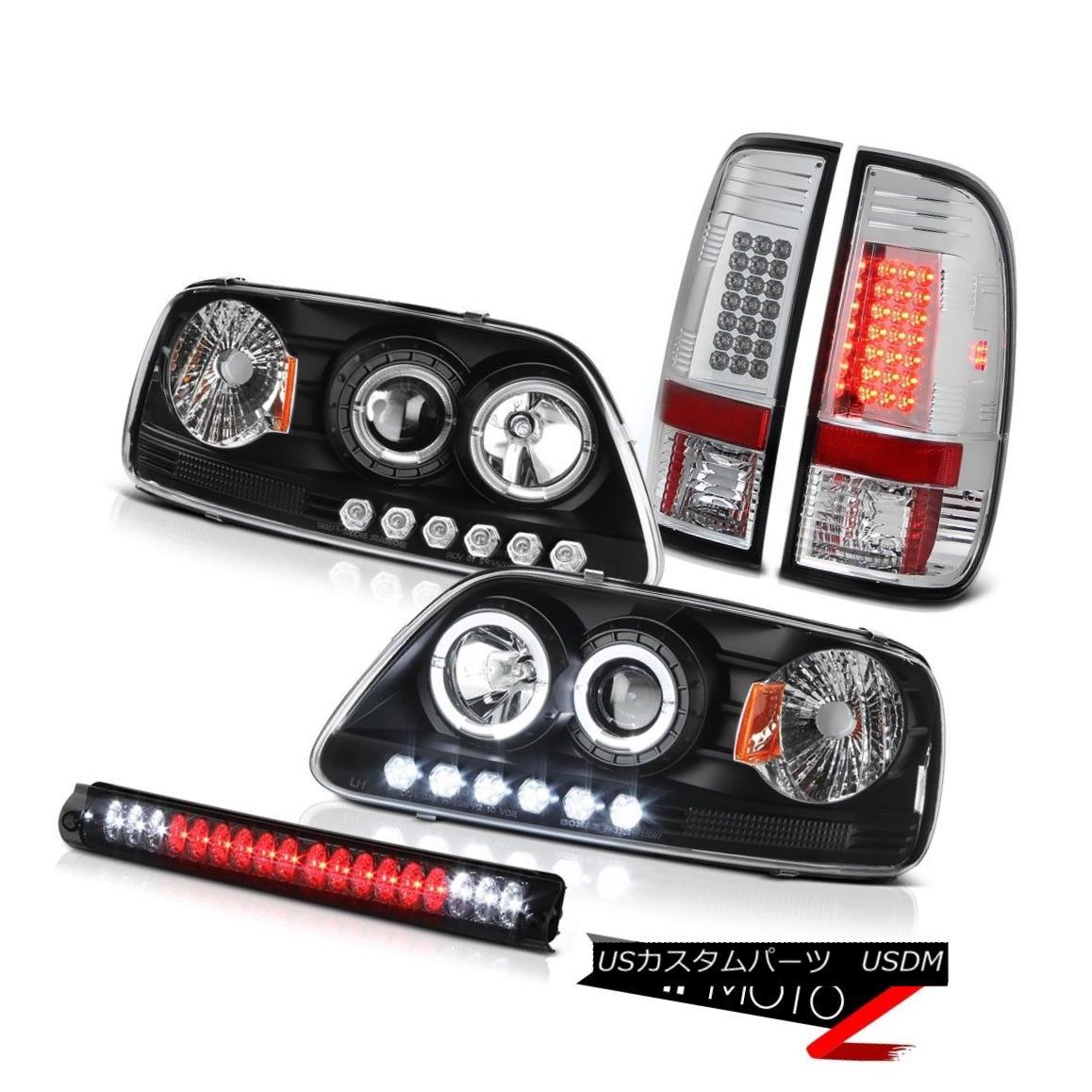 テールライト 1999 2000 2001 F150 SVT Halo LED SMD Headlights Brake Taillights High Stop Light 1999 2000 2001 F150 SVT Halo LED SMDヘッドライトブレーキテールライトハイストップライト