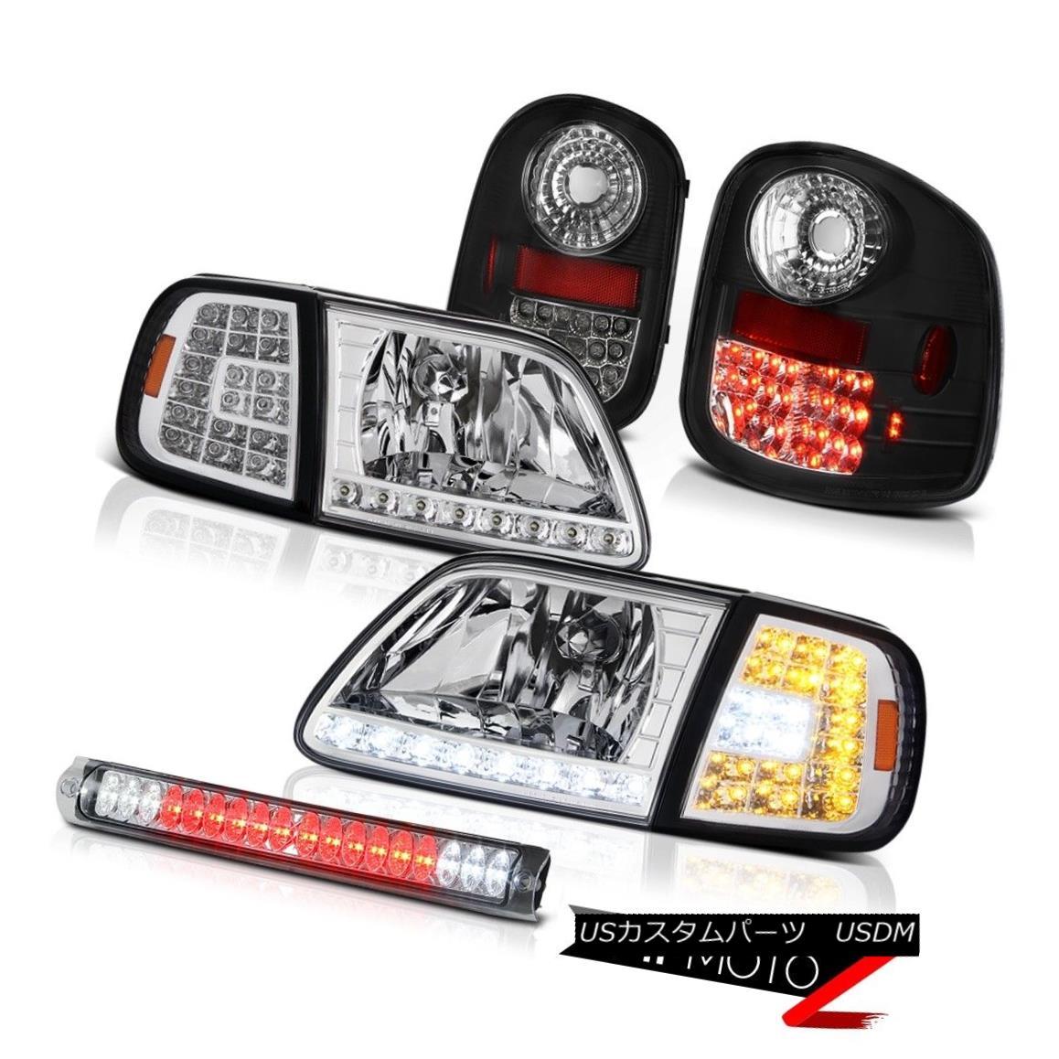 テールライト SMD Headlights Taillamps High Brake LED 1997-2003 F150 Flareside Harley Davidson SMDヘッドライトタイルランプハイブレーキLED 1997-2003 F150 Flaresideハーレーダビッドソン