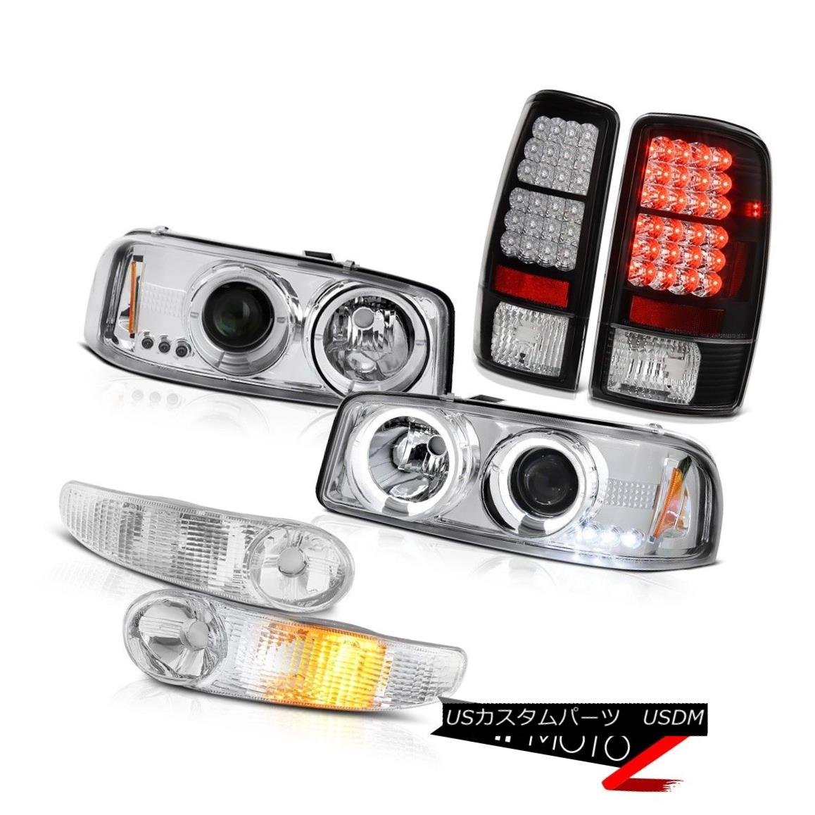 テールライト Projector Headlights Halo Euro Parking SMD Brake Tail Lights 2000-2006 Yukon XL プロジェクターヘッドライトHalo Euro Parking SMDブレーキテールライト2000-2006 Yukon XL