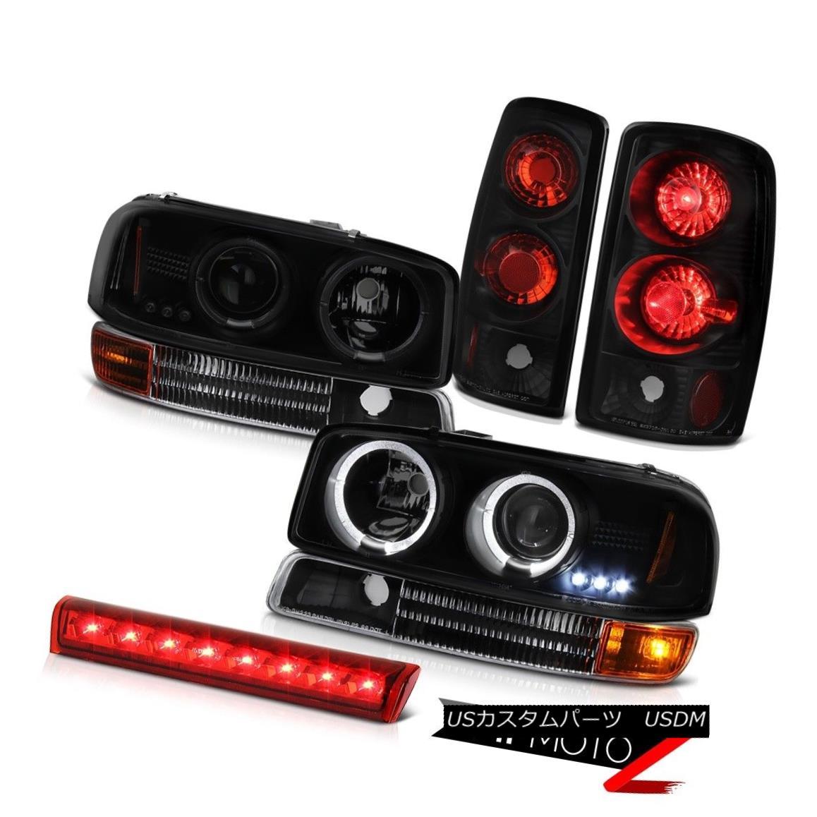 テールライト 2000-2006 Yukon 5.3L L.E.D DRL Headlights Signal Rear Brake Tail Light Third LED 2000-2006ユーコン5.3L L.E.D DRLヘッドライト信号リアブレーキテールライト第3 LED