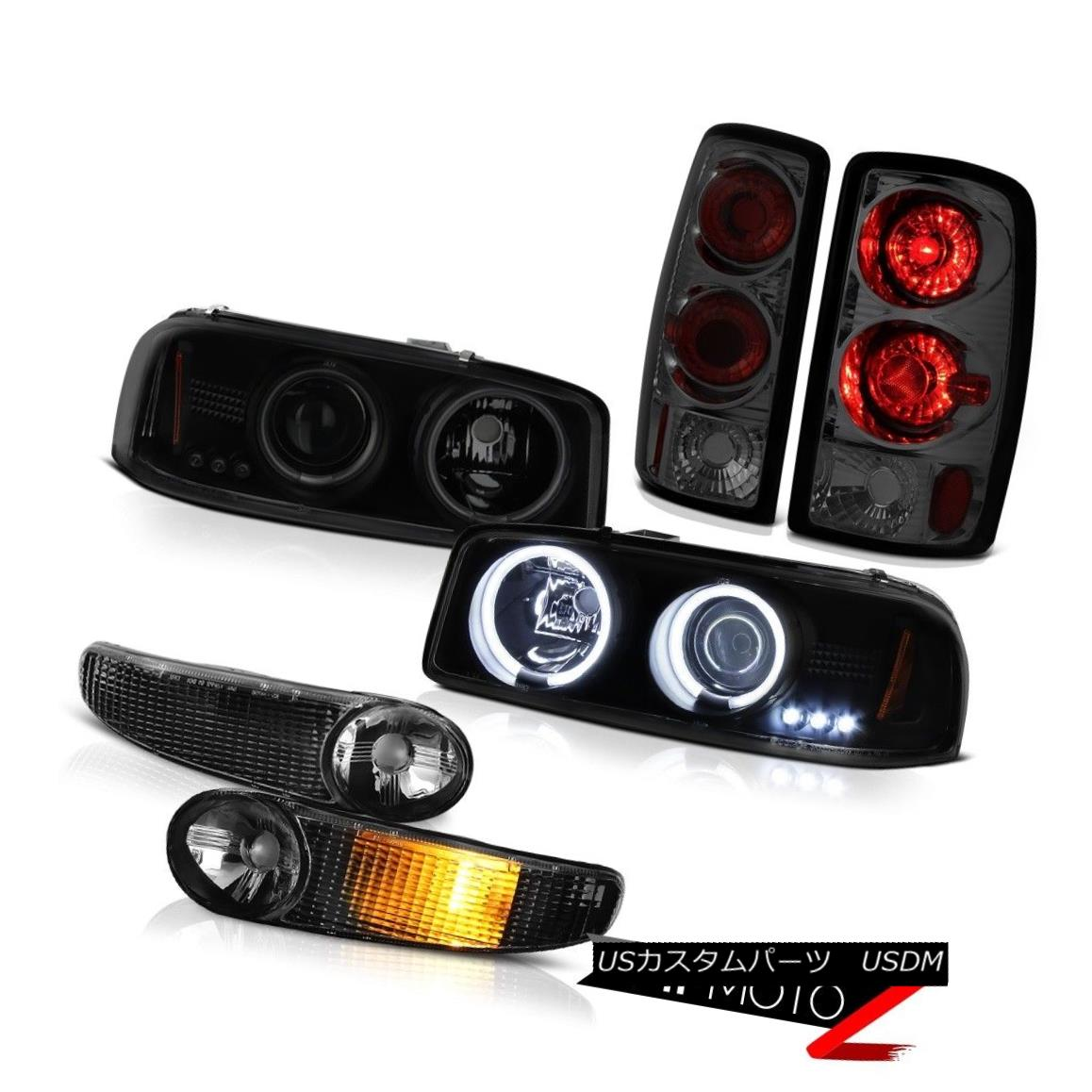 テールライト Altezza Tail Lights 00-06 Yukon Denali Bright CCFL Halo Headlights Signal Bumper Altezza Tail Lights 00-06ユーコンデナリブライトCCFL Haloヘッドライトシグナルバンパー