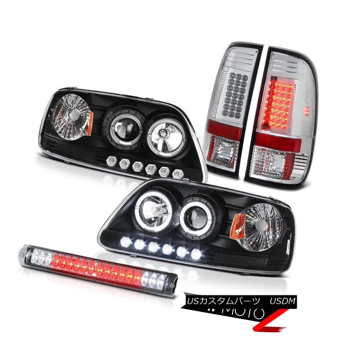 テールライト LED Daytime Projector Headlight Taillamp Third Brake Light F150 Triton 1997-2003 LED昼間プロジェクターヘッドライトテールランプ第3ブレーキライトF150トリトン1997-2003