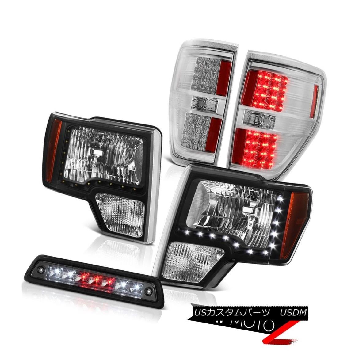 テールライト 09-14 FORD F150 STX Roof cargo lamp taillamps headlights led drl LED Assembly 09-14フォードF150 STXルーフカーゴランプテールランプヘッドライトled drl LEDアセンブリ