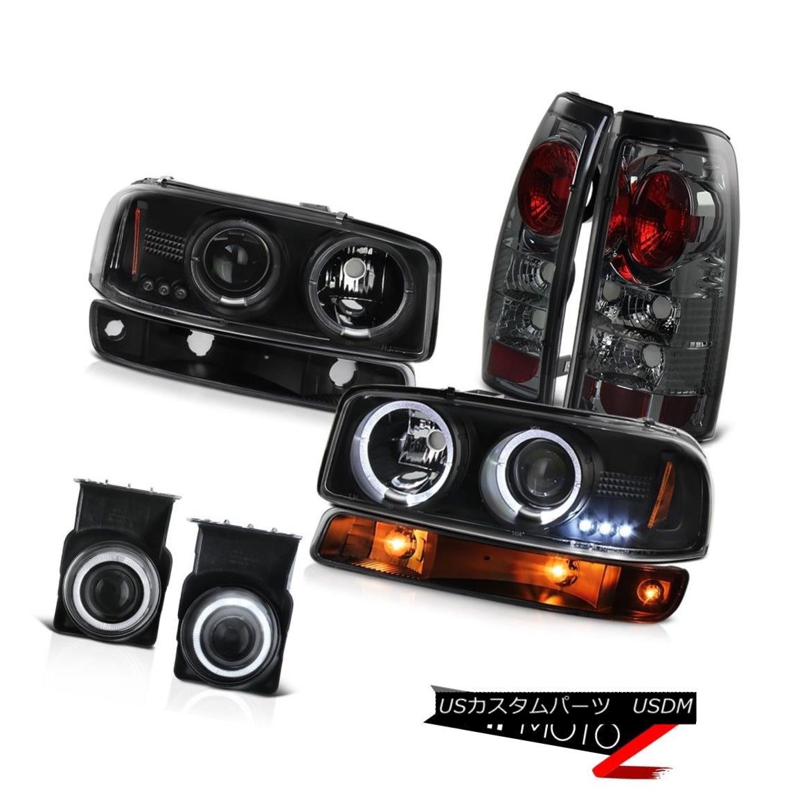 テールライト 03-06 Sierra C3 Fog lights parking brake raven black light Projector Headlights 03-06シエラC3フォグライトパーキングブレーキレイブンブラックライトプロジェクターヘッドライト