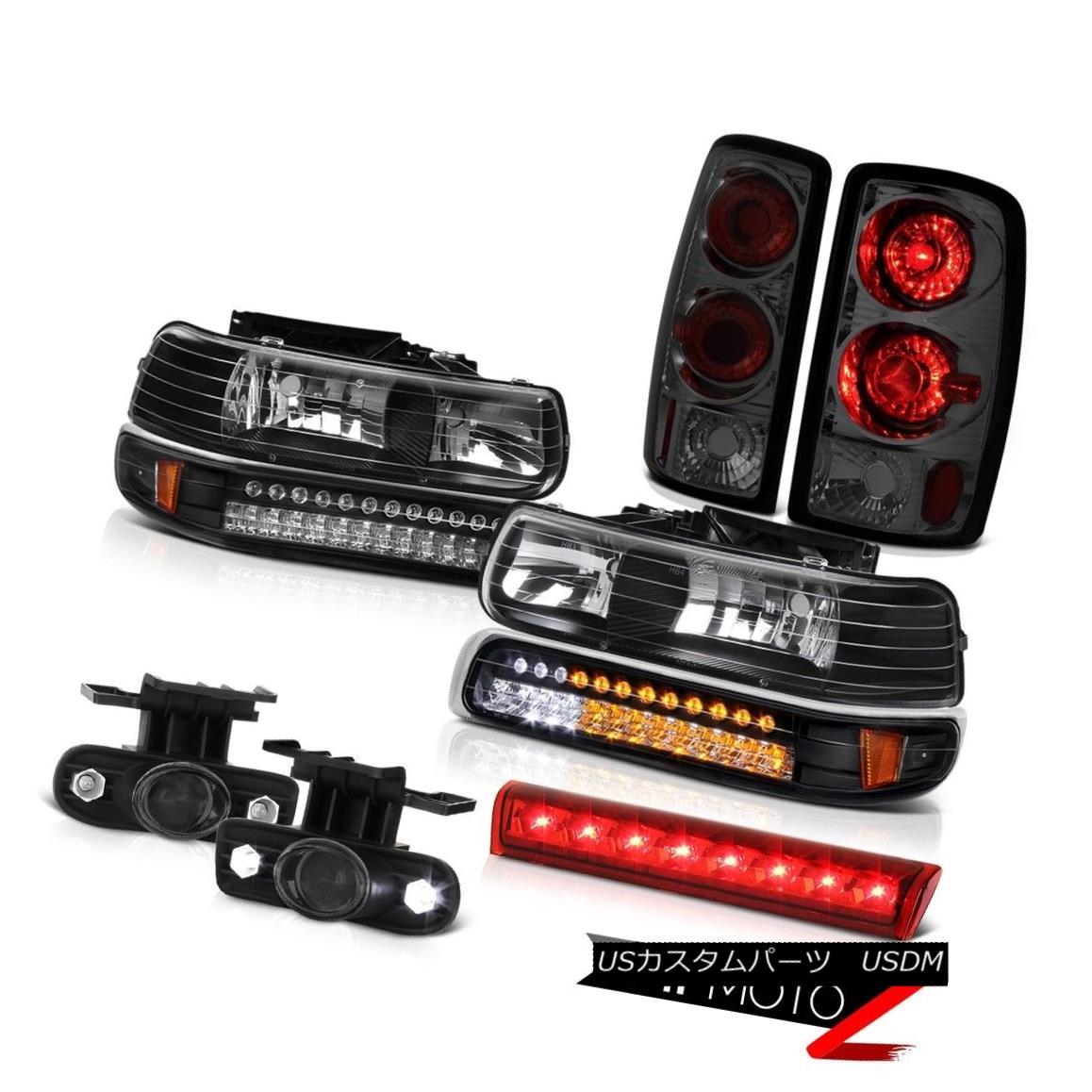 テールライト 00-06 Chevy Suburban LS Rosso red roof cargo lamp fog lights tail Headlamps LED 00-06シボレー郊外LSロッソレッド屋根カーゴランプフォグライトテールヘッドランプLED