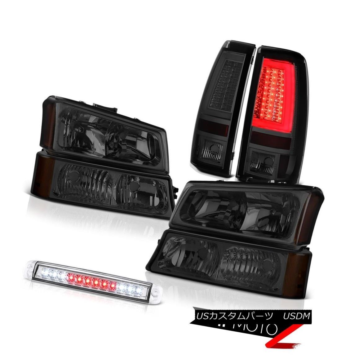 テールライト 03 04 05 06 Silverado 1500 Tail Lights 3RD Brake Light Headlights Neon Tube LED 03 04 05 06 Silverado 1500テールライト3RDブレーキライトヘッドライトネオンチューブLED
