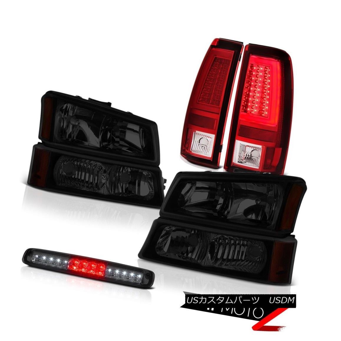 テールライト 03 04 05 06 Silverado Tail Brake Lamps Headlights Roof Cargo Lamp Tron Style LED 03 04 05 06 Silveradoテールブレーキランプヘッドライト屋根カーゴランプトロンスタイルLED