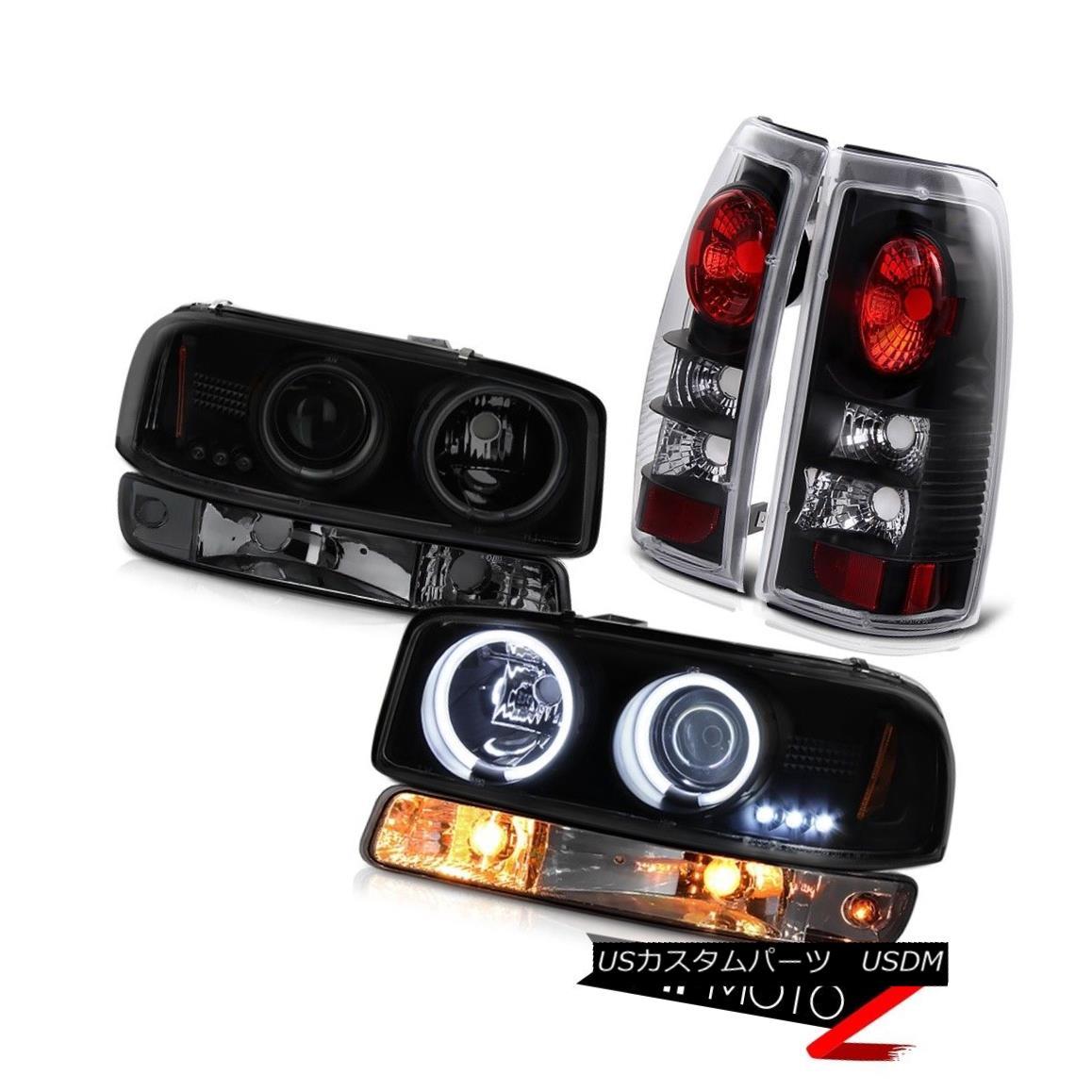 テールライト 99 00 01 02 Sierra 1500 Parking brake lights smokey bumper light ccfl headlights 99 00 01 02 Sierra 1500パーキングブレーキライトスモーバンパーライトccflヘッドライト