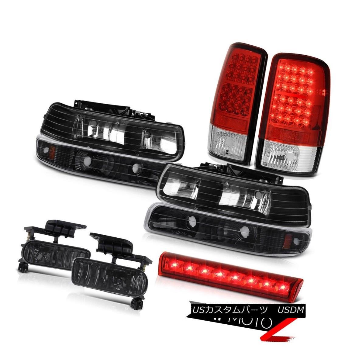 テールライト 2000-2006 Chevy Tahoe LS Red roof cargo light fog lights tail brake Headlights 2000-2006シボレータホLSレッドルーフカーゴライトフォグライトテールブレーキヘッドライト