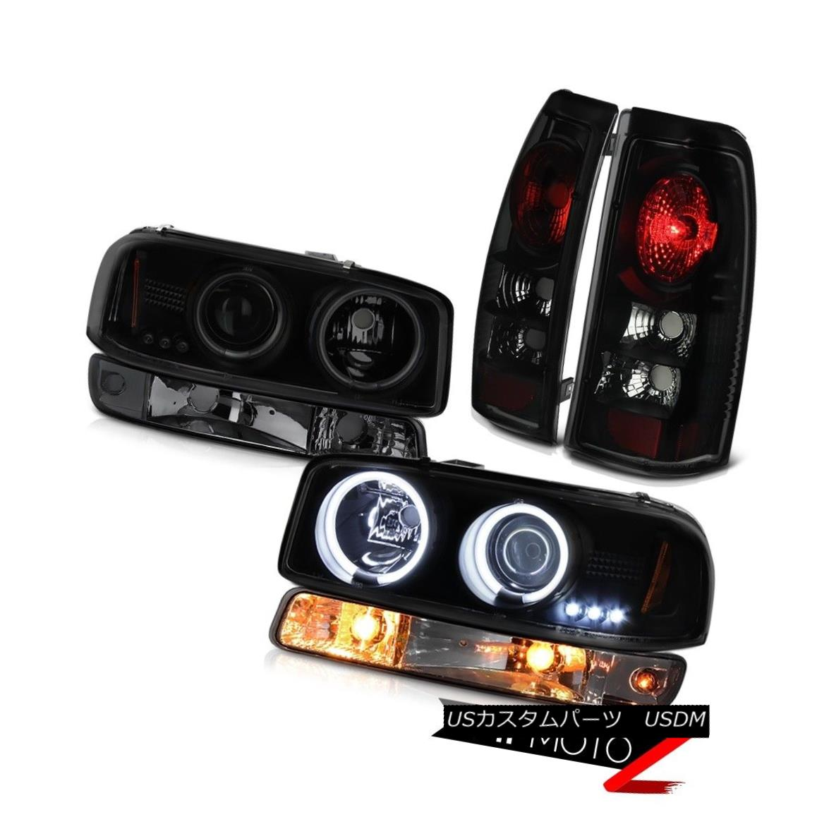 テールライト 1999-2002 Sierra 1500 Taillights titanium smoke bumper light ccfl headlights 1999-2002シエラ1500ティアライトチタン煙バンパーライトccflヘッドライト