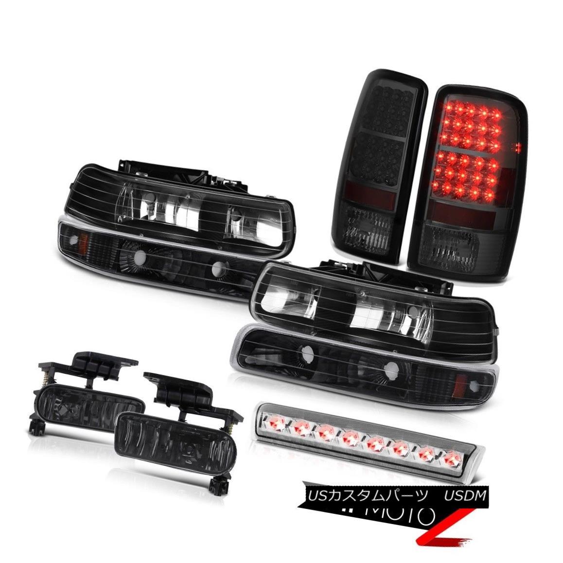 テールライト 2000-2006 Suburban 2500 4X4 Headlamps rear brake lamps fog chrome roof cab Light 2000-2006郊外2500 4X4ヘッドライトリアブレーキランプフォグクロムルーフキャブライト