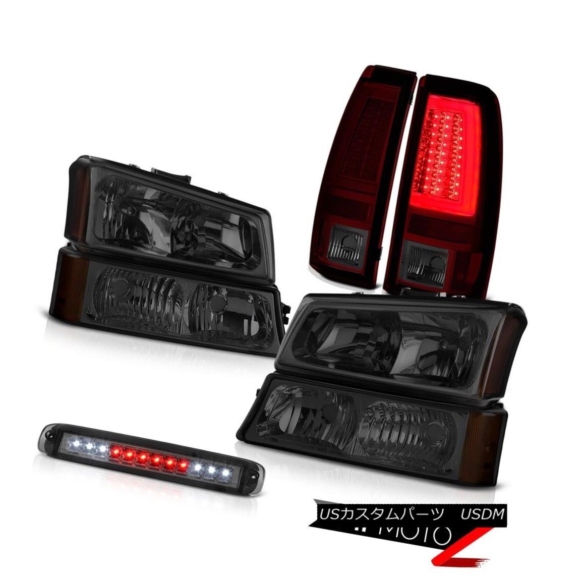 テールライト 03-06 Silverado 1500 Rear Brake Lamps 3RD Light Bumper Headlights