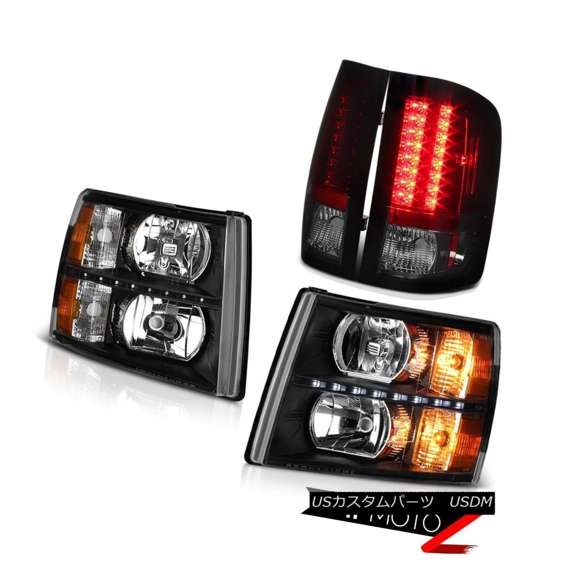 テールライト 07 08 09 10 11 12 13 Silverado LT Tail Brake Lamps Headlamps LED DRL