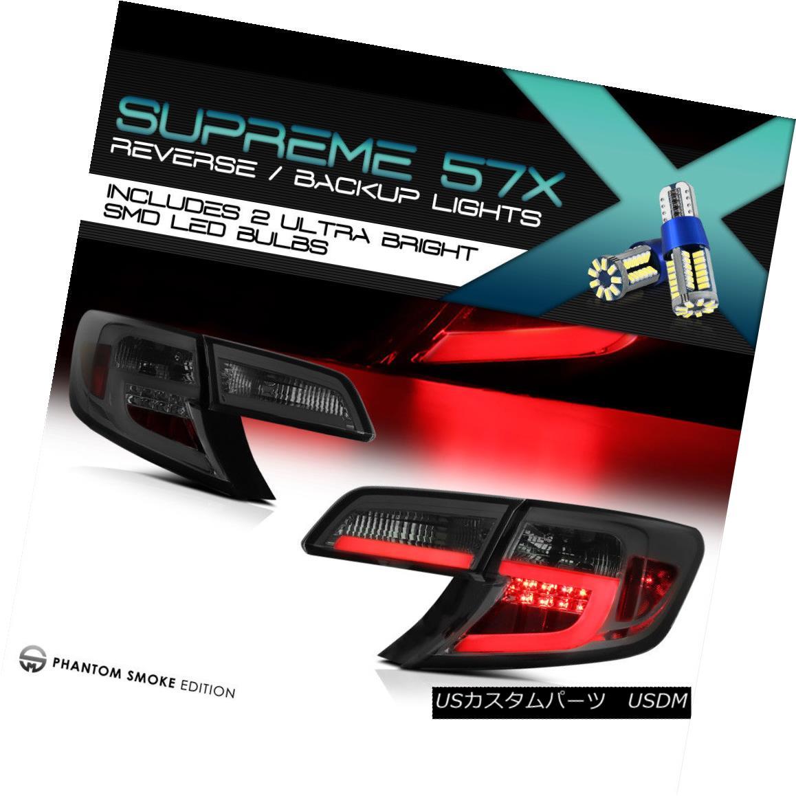 テールライト !FULL SMD REVERSE! Fiber OpTic LED Rear Tail Lights 2012-2014.5 Toyota Camry SE !FULL SMD REVERSE! ファイバーOpTic LEDリアテールライト2012-2014.5トヨタカムリSE