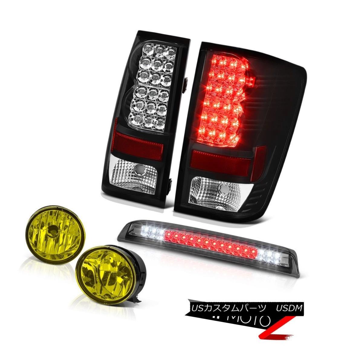 テールライト For 2004-2015 Titan Signal Tail Light Yellow Fog High 3rd Brake Cargo LED Lamp 2004年?2015年タイタンシグナルテールライトイエローフォッグハイ3ブレーキカーゴLEDランプ