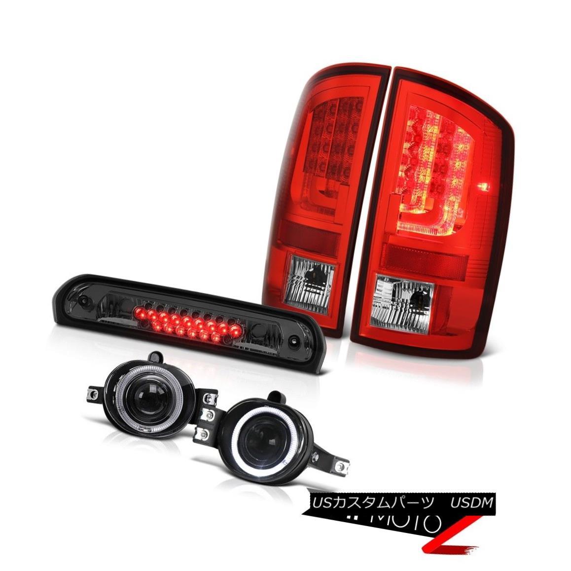 テールライト 07-08 Dodge Ram 2500 5.9L Taillights Fog Lights Graphite Smoke Roof Cab Light 07-08ダッジラム2500 5.9L曇り灯ライトグラファイト煙屋根キャブライト
