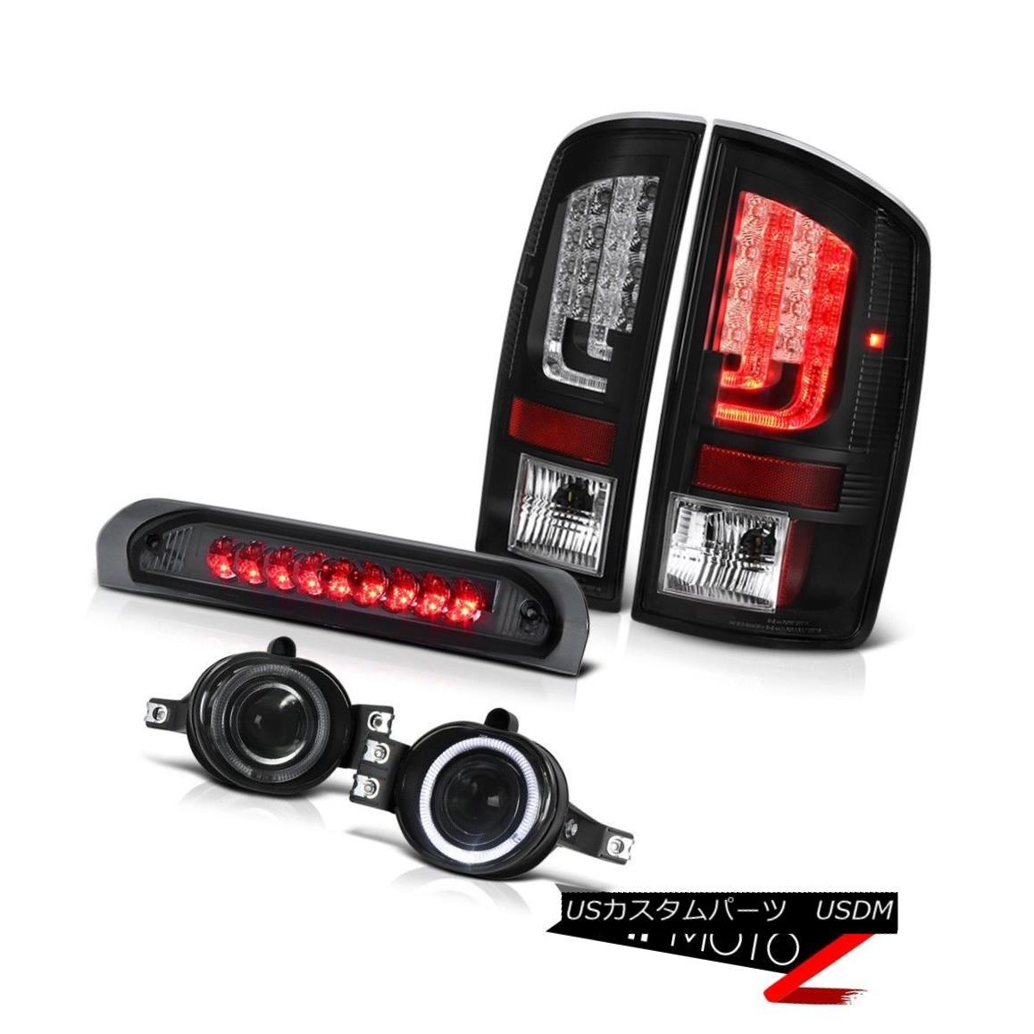 テールライト 07-08 Dodge Ram 1500 ST Tail Brake Lamps Fog 3RD Lamp OLED Prism