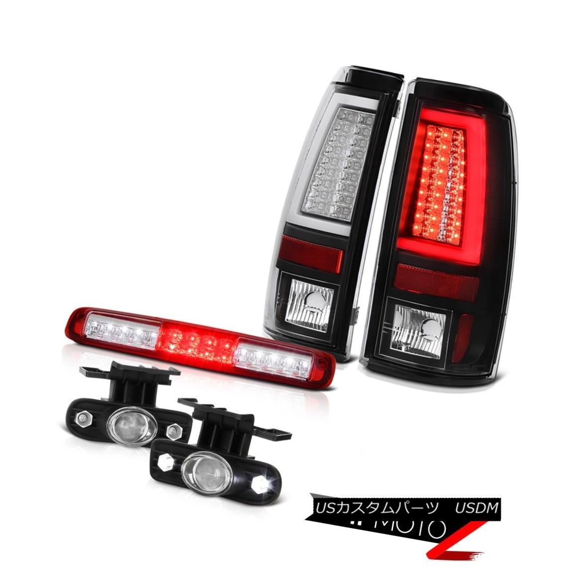 テールライト 99 00 01 02 Silverado 3500 Tail Lamps Roof Cab Light Euro Clear Fog OLED Prism 99 00 01 02 Silverado 3500テールランプルーフキャブライトユーロクリアフォグOLEDプリズム