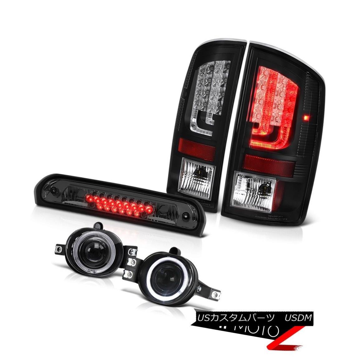 テールライト 2003-2006 Dodge Ram 3500 WS Tail Brake Lights Chrome Foglamps 3RD Lamp Tron Tube 2003-2006 Dodge Ram 3500 WSテールブレーキライトクロームフォグランプ3RDランプトロンチューブ