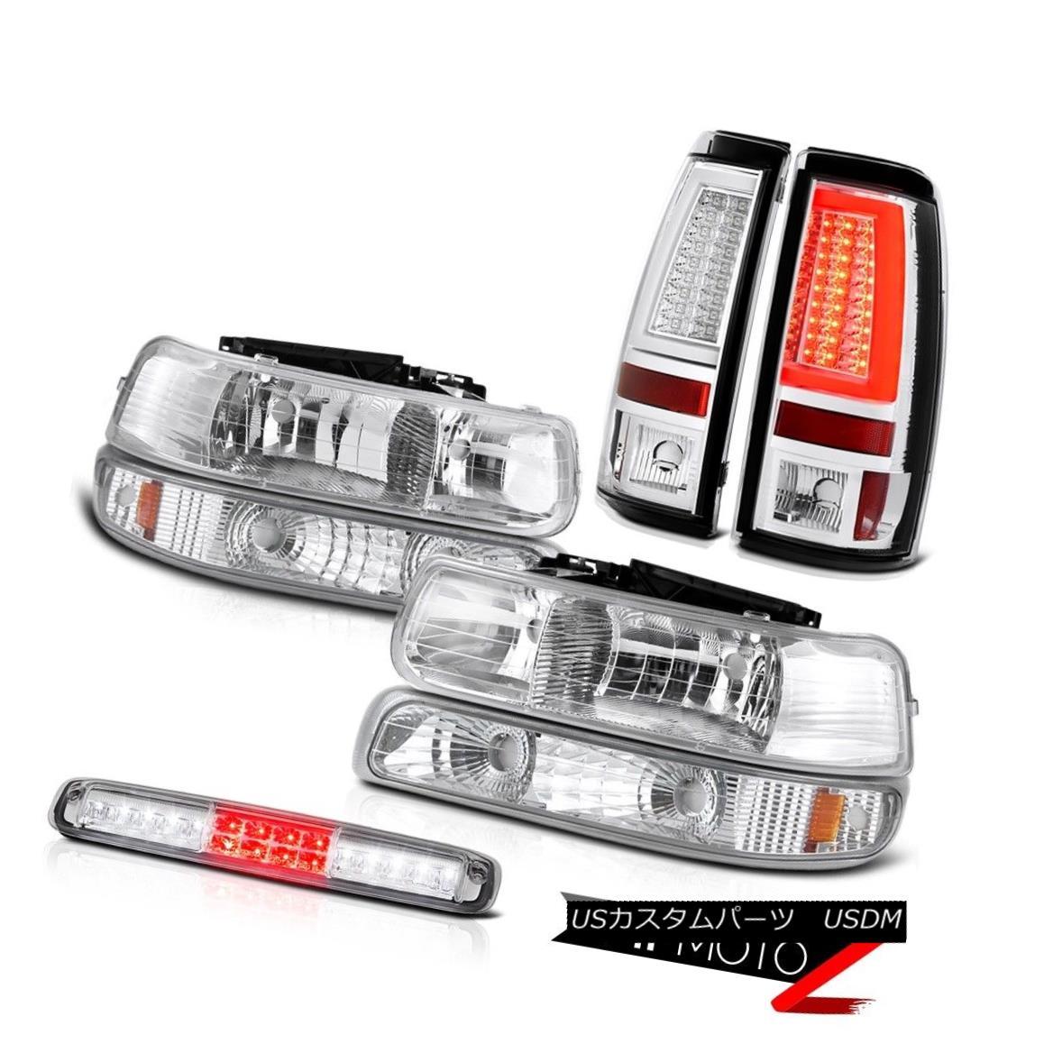 テールライト 99-02 Silverado 4.3L Tail Lamps Headlamps Parking Light High Stop Factory Style 99-02 Silverado 4.3Lテールランプヘッドランプパーキングライトハイストップファクトリースタイル