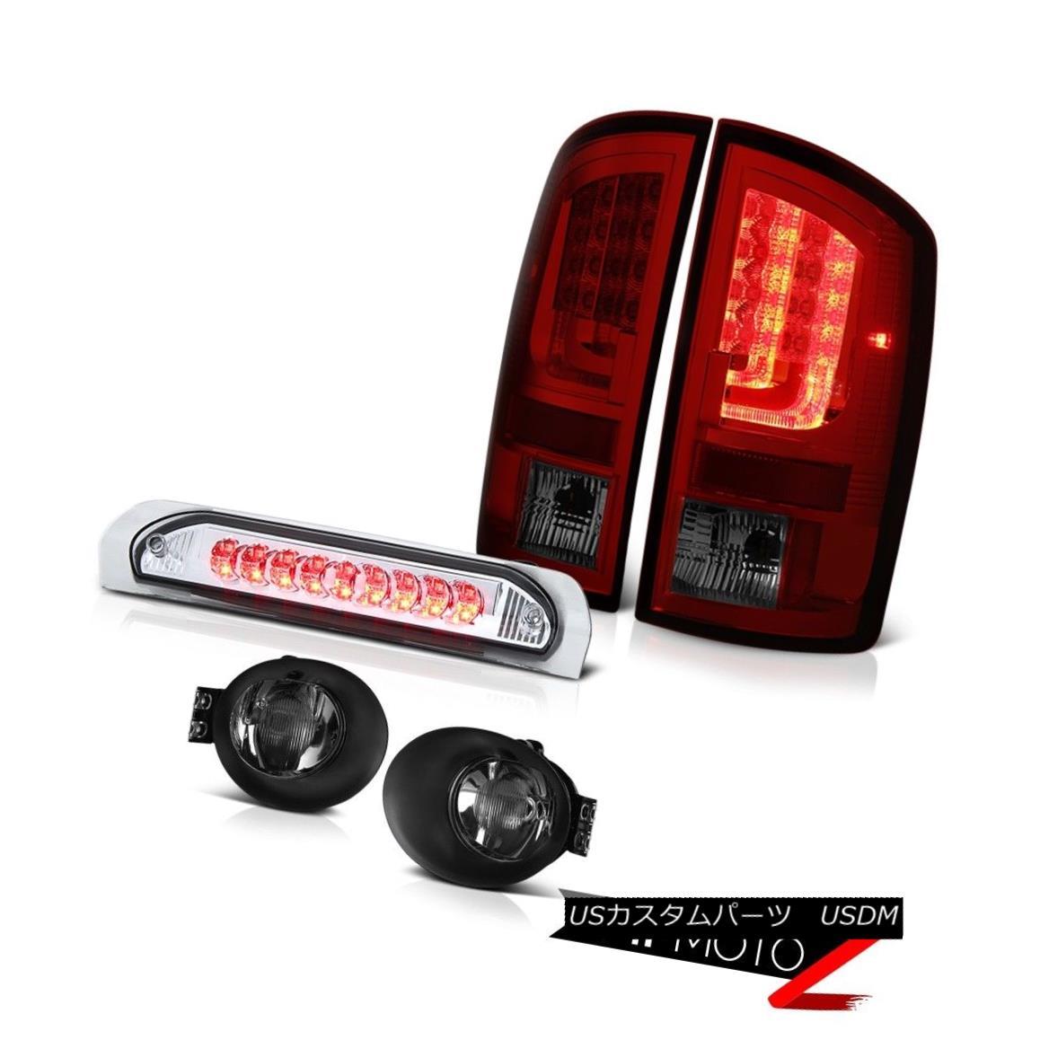 テールライト 2003-2006 Dodge Ram 3500 ST Tail Lamps Foglamps Chrome Roof Cab Lamp Light Bar 2003-2006 Dodge Ram 3500 STテールランプフォグランプクロームルーフキャブランプライトバー