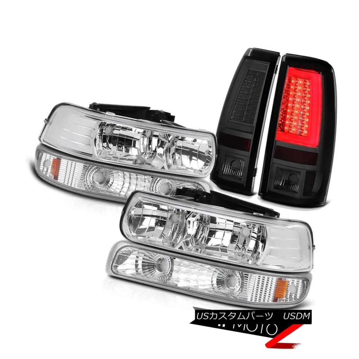 テールライト 99 00 01 02 Silverado 5.3L Tail Lights Sterling Chrome Signal Light Headlights 99 00 01 02 Silverado 5.3Lテールライトスターリングクロムシグナルライトヘッドライト