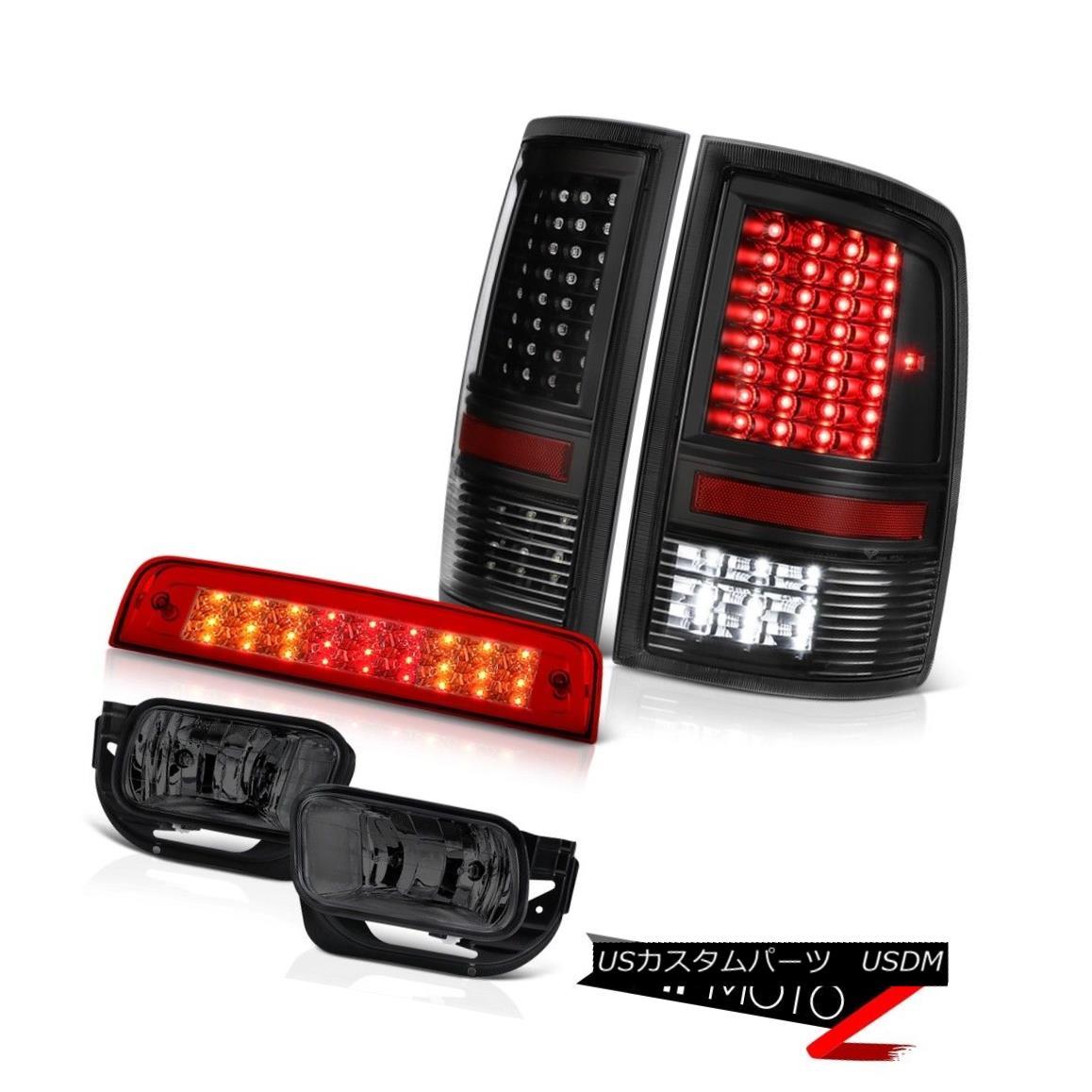 テールライト 2010-2018 Ram 3500 SLT Rosso Red Third Brake Lamp Tail Lights Fog