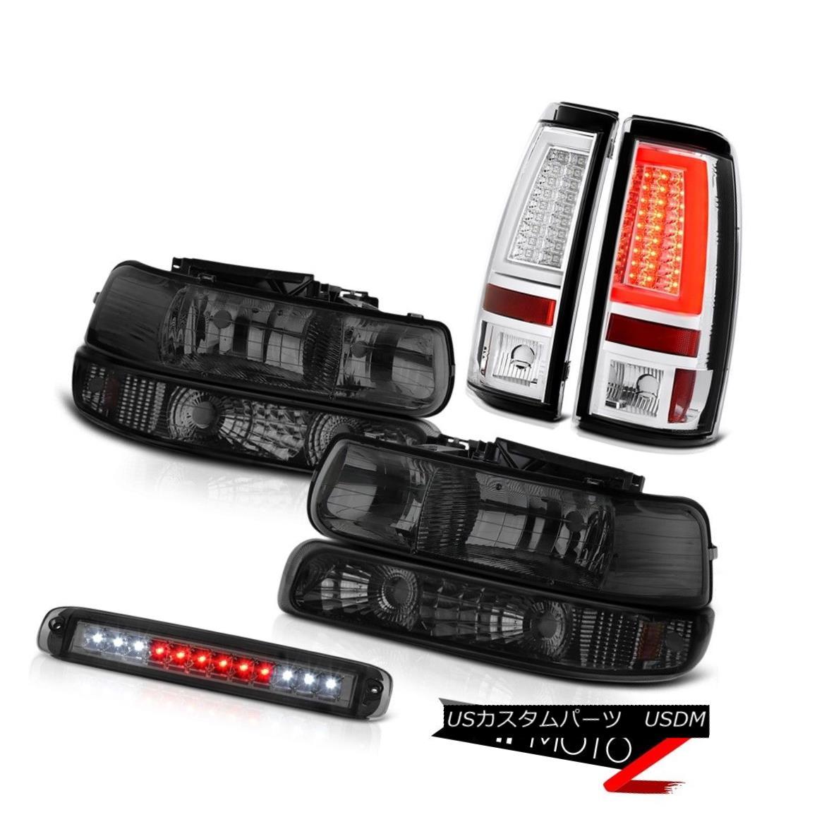 テールライト 99-02 Silverado Z71 Rear Brake Lamps Roof Cab Light Headlamps Parking Assembly 99-02 Silverado Z71リアブレーキランプルーフキャブライトヘッドランプパーキングアセンブリ