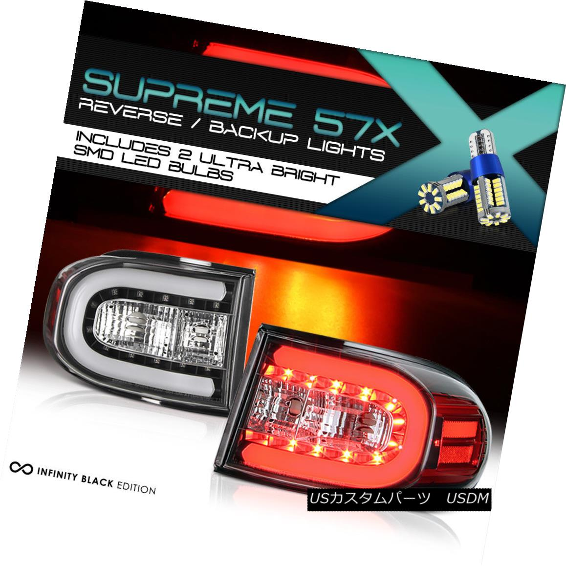 テールライト !360 Degree SMD Reverse! 2007-2015 Toyota FJ Cruiser 1GR-FE V6 LED Tail Lights 360度SMDリバース! 2007-2015トヨタFJクルーザー1GR-FE V6 LEDテールライト