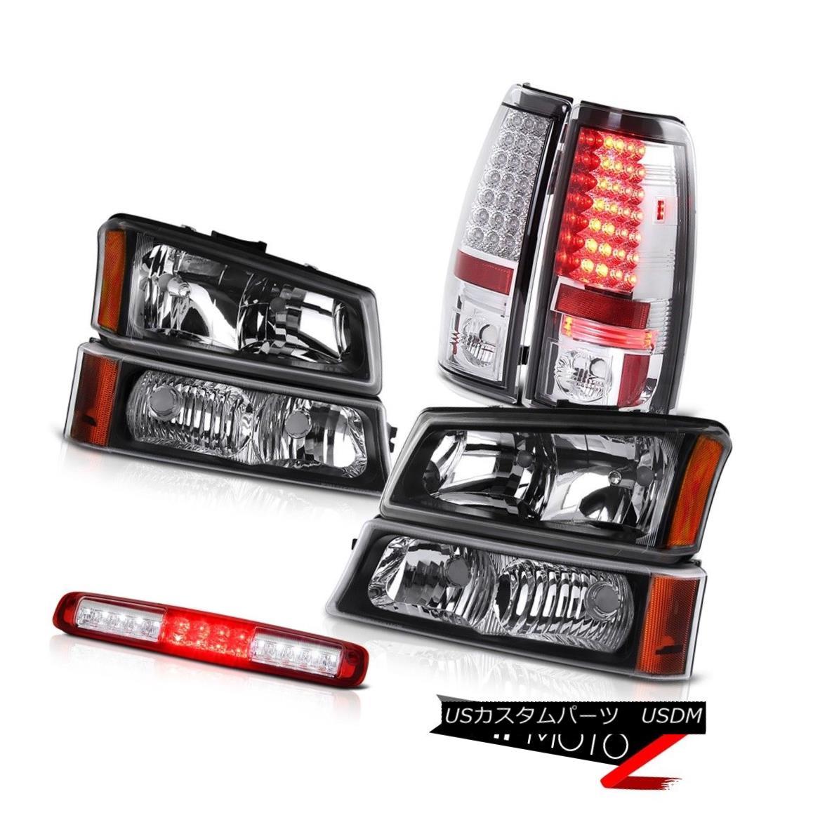 テールライト 03-06 Silverado 3500Hd Signal Lamp Red Roof Brake Light Headlights Tail Lamps 03-06 Silverado 3500Hd信号ランプ赤い屋根のブレーキライトヘッドライトテールランプ