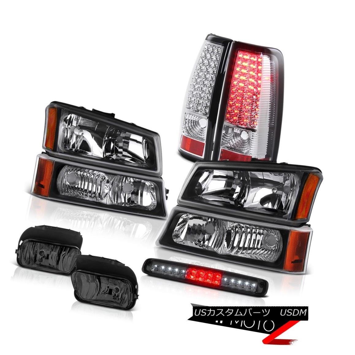 テールライト 03 04 05 06 Silverado 2500Hd Headlamps Foglamps High Stop Light Rear Brake Lamps 03 04 05 06 Silverado 2500Hdヘッドライトフォグランプハイストップライトリアブレーキランプ