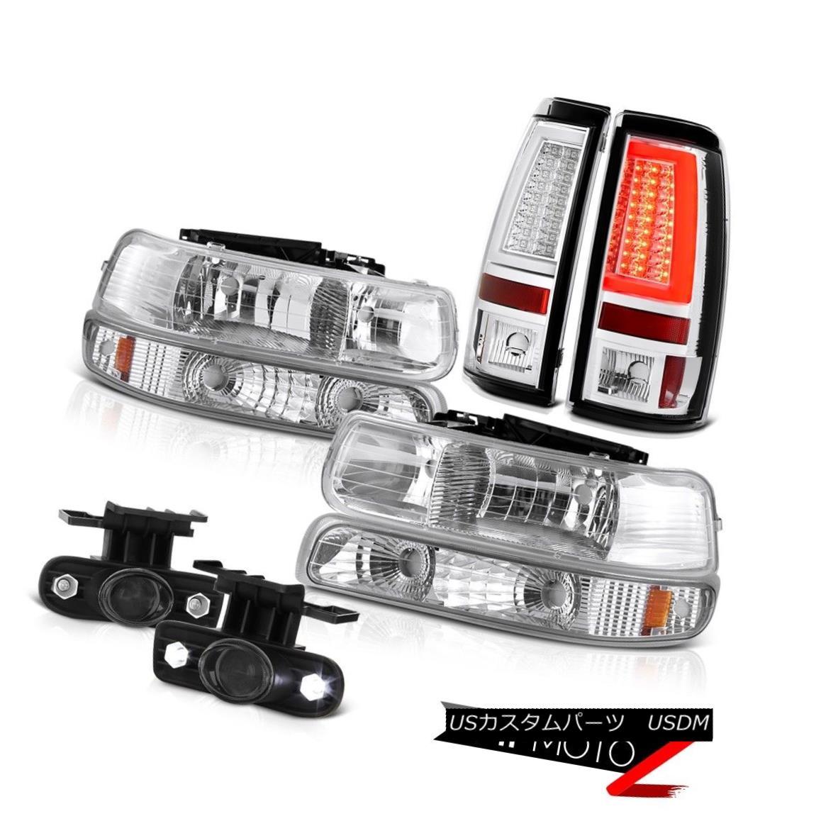 テールライト 99 00 01 02 Silverado 3500 Taillights Headlights Fog Lamps Neon Tube