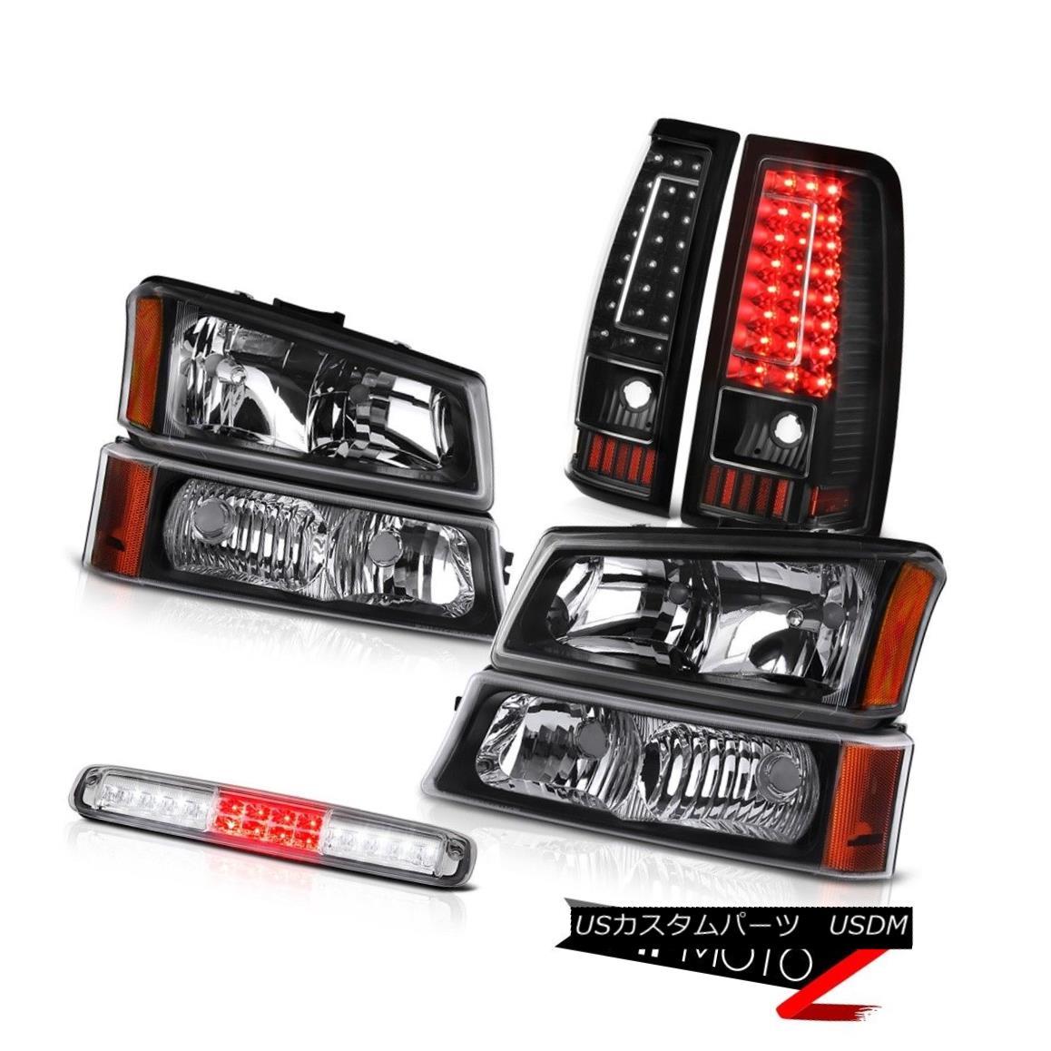 テールライト 03-06 Silverado 1500 Chrome 3RD Brake Lamp Taillights Signal Light Headlights 03-06 Silverado 1500 Chrome 3RDブレーキランプテールライトシグナルライトヘッドライト