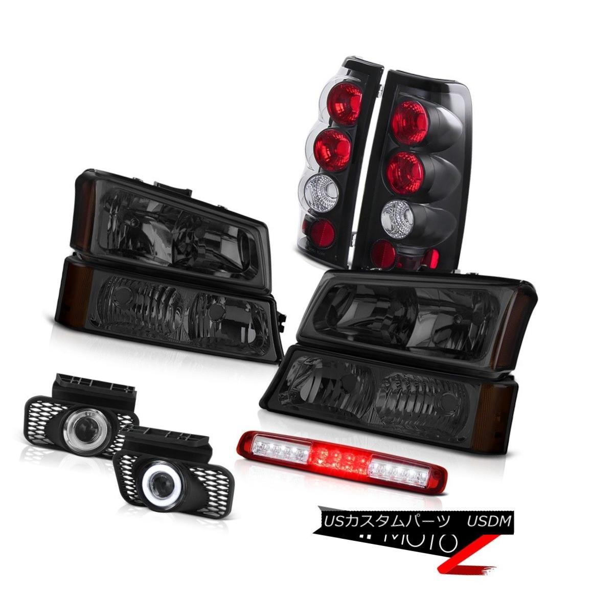 テールライト 03-06 Silverado Signal Light Third Brake Headlamps Fog Lights Taillamps Altezza 03-06シルヴァードシグナルライトサードブレーキヘッドランプフォグライトタイルランプアルテッツァ