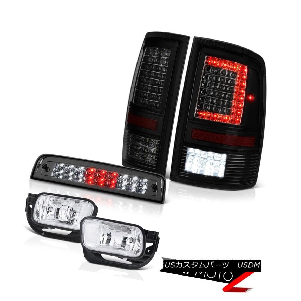 テールライト 09-14 15-18 Dodge RAM 3500 Tail Light Driving Lamp Third Brake Lights SET PAIR 09-14 15-18ダッジRAM 3500テールライト駆動ランプ第3ブレーキライトSET PAIR