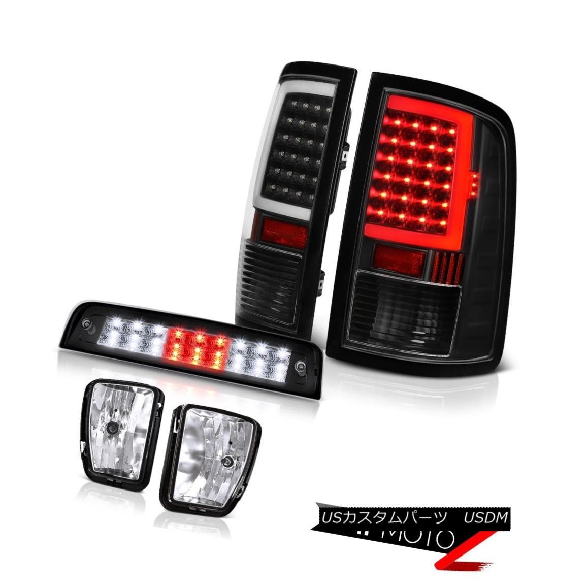 テールライト 13-18 RAM 1500 Third Brake Lights Tail Light Sterling Chrome Driving Replacement 13-18 RAM 1500第3ブレーキライトテールライトスターリングクロムドライビング交換