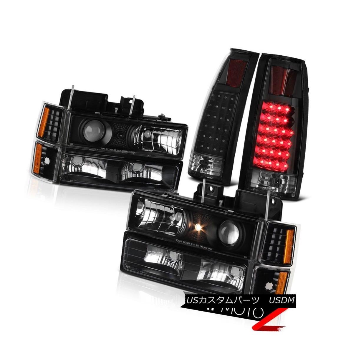テールライト 94 95 96 97 98 Chevy Suburban CK 1500 2500 LED Rear Stop Tail Light Headlights 94 95 96 97 98シボレー郊外CK 1500 2500 LEDリアストップテールライトヘッドライト