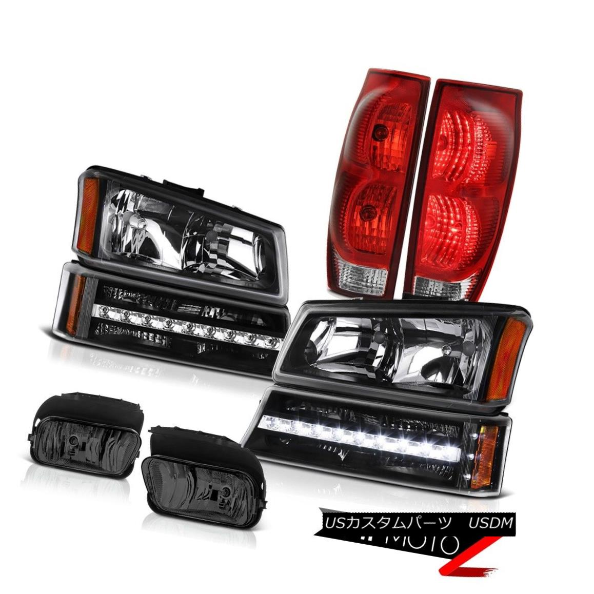 テールライト 2003-2006 Avalanche Foglamps Red Parking Brake Lights Tail Lamp Headlights LED 2003-2006雪崩のフォグランプレッドパーキングブレーキライトテールランプヘッドライトLED