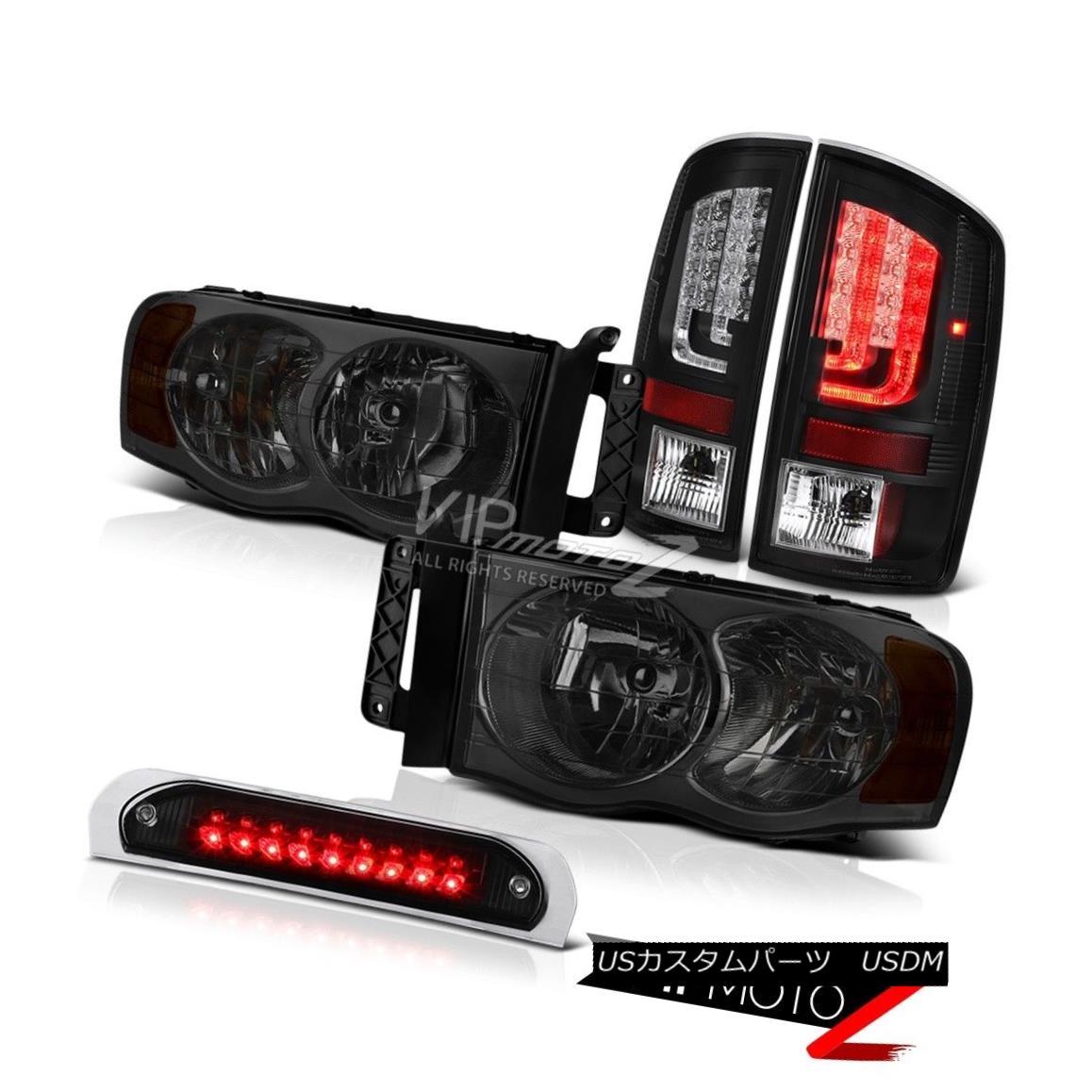 テールライト 02-05 Ram 1500 2500 3500 WS Rear Brake Lamps Roof Cab Light Headlamps Assembly 02-05 Ram 1500 2500 3500 WSリアブレーキランプルーフキャブライトヘッドランプアセンブリ