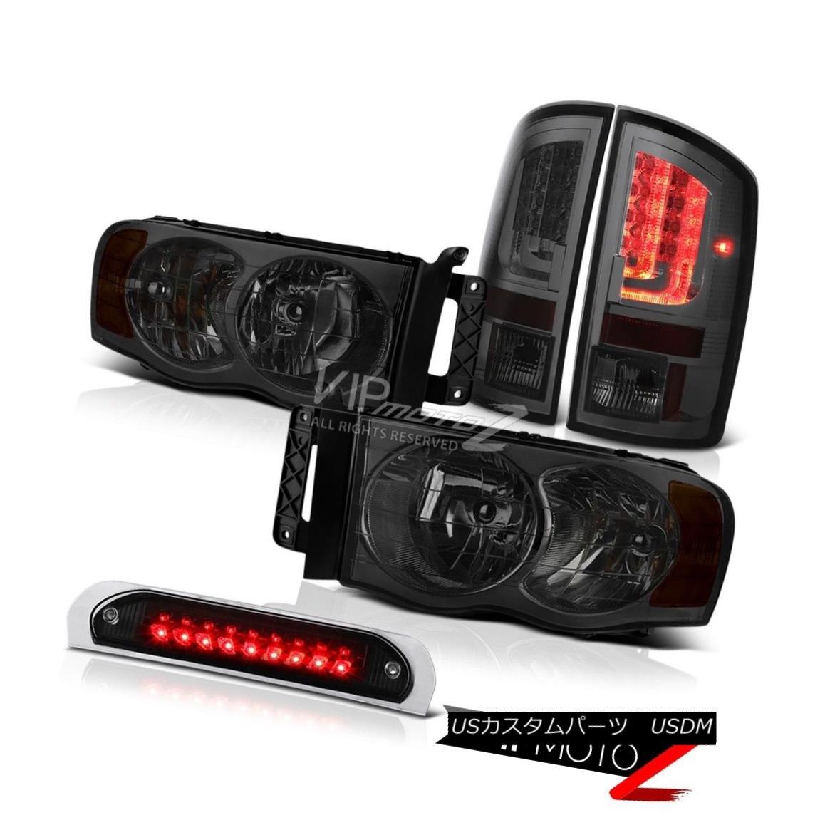 テールライト 02-05 Dodge Ram 2500 3500 ST Tail Lights Roof Brake Lamp Headlights
